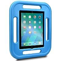iPad 2 / 3 / 4 Custodia per Bambini, COOPER GRABSTER Custodia Protettiva da Gioco Antiurto e Resistente per Bambini con 4 Maniglie e Proteggi Schermo Gratuito per Apple iPad 2 / 3 / 4 (Blu)