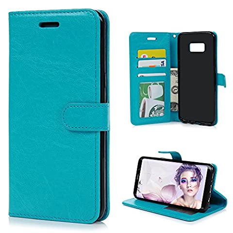 Samsung Galaxy S8 Case, Stylish Pure Color Designed Smooth PU