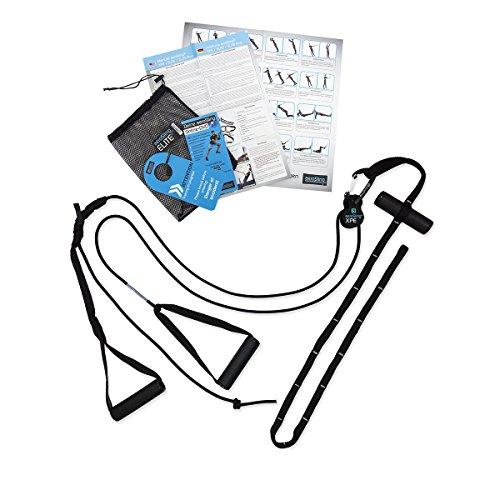 aeroSling XPE - Sling Trainer mit Umlenkrolle, Türanker, Online-DVD, Poster, sehr kompakt