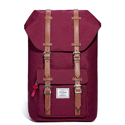 KALIDI 17 Zoll Laptop Rucksack Backpack Schulrucksack für bis zu 15.6 Zoll Laptop Notebook Computer Arbeit Campus Studenten Ou...