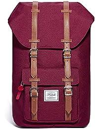 "KALIDI 17 Inch Laptop Backpack Rucksack Outdoor Travel Hiking Backpack Schoolbag for Men and Women Fits 15""-15.6"" Laptop/Notebook"