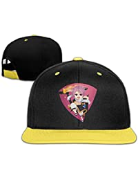 Fairy Tail Natsu Dragneel Personalize Boy Girl Kids Hiphop Hat Cotton Cool Yellow