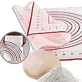 Espeedy Silicona De Fibra De Vidrio Para Hornear Masa Para Rollos Pasteles Pasteles Bakeware Liner Pad Mat Horno Pasta Herramientas De Cocina 60x40 CM