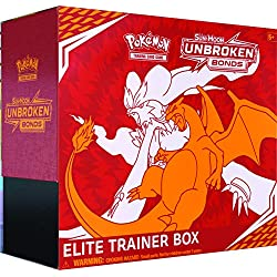 Pokémon POK80563 TCG: Sun & Moon 10 Unbroken Bonds Elite Trainer Box, colori misti