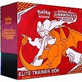 Pokémon POK80563 TCG: Sun & Moon 10 Unbroken Bonds Elite Trainer Box, Mixed Colours