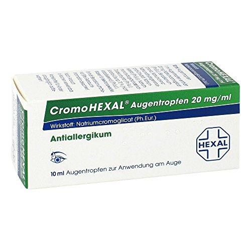 CromoHEXAL Augentropfen, 10 ml Lösung