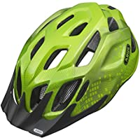 ABUS, Casco bicicletta Bambino MountX, Verde (apple green), 53-58 cm