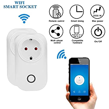 Smart Steckdose Fernbedienung WiFi Switch Steckdose ...
