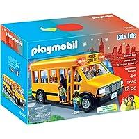 Playmobil City Life School Bus 5680 flashing lights
