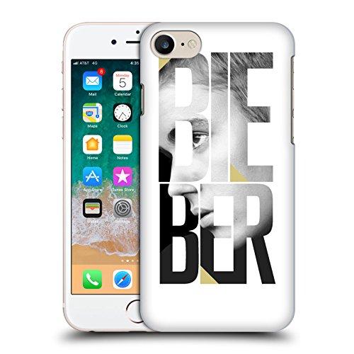 Head Case Designs Offizielle Justin Bieber Spiegel Kalender Text Purpose Sw Harte Rueckseiten Huelle kompatibel mit iPhone 7 / iPhone 8