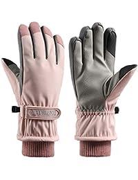 MEITING Winter Skihandschuhe Wasserdichte Sport Handschuhe Outdoor Wärme Touchscreen Handschuhe Trainingshandschuhe Rutschfest Radfahren Handschuhe Sporthandschuhe Winterhandschuhe Herren Damen