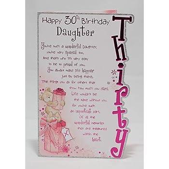 Happy 30th Birthday Daughter