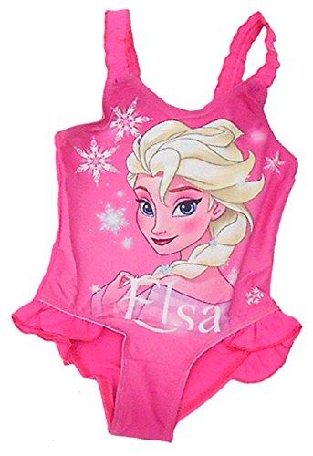 Frozen - Die Eiskönigin -  Costume intero  - ragazza Rosa 116 cm