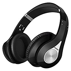 Mpow Bluetooth Headphones Wireless Wireless Headphones Over Ear Soft Earmuffs Foldable Headphones Built-in Microphone, Up To 20 Hrs Playtime Wireless & Wired Mode For Mobile Phones Tv Pc Laptop