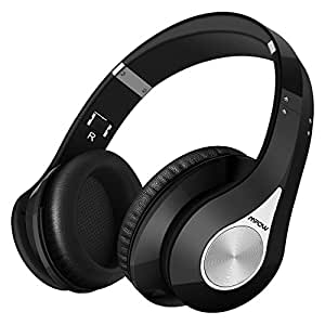 bluetooth kopfh rer mpow over ear headset over ear. Black Bedroom Furniture Sets. Home Design Ideas