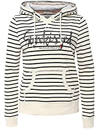 Hilfiger Denim Basic Graphic Hoody L/S 03, Sweat-Shirt à Capuche Femme