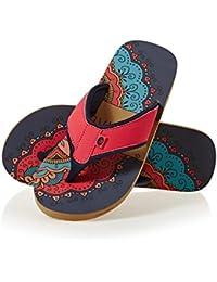 Animal Swish Placement, Women's Flip Flops