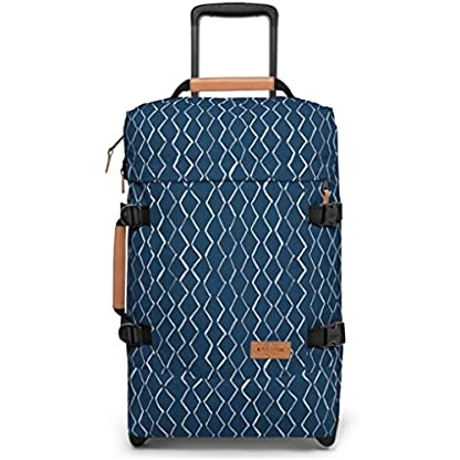Eastpak Authentic Maleta, 51 cm, 42 Litros, Azul / Rhombs