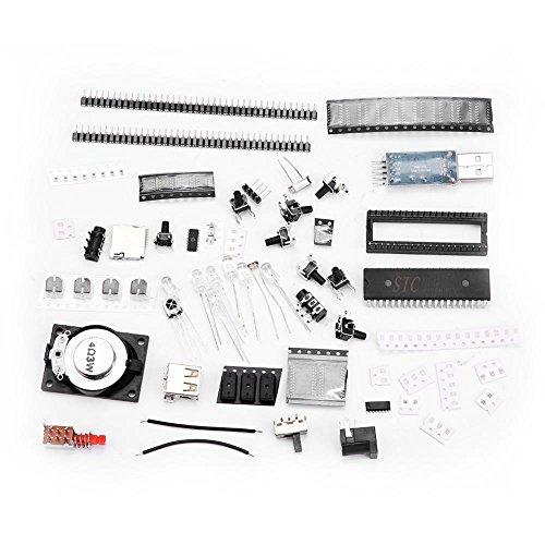 Straightforward 3d 8x8x8 Square Diy Led Blue Cubes Kit Mp3 Music Spectrum Cubes Beads Bag Audio & Video Replacement Parts