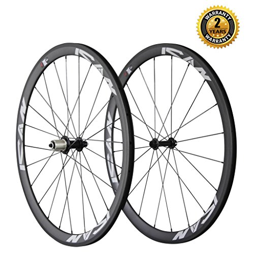 ICAN 38mm Carbon wheels Cover 700C Sapim Cx-ray Radios 20 / 24 Holes Shimano 10 / 11 V