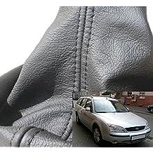 métrica gefertigter Schalt Saco Negro–Palanca de cambios de cuero para Ford Mondeo MK3Calidad de Original.