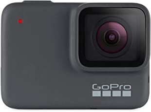 GoPro  HERO7  Silver  –  wasserdichte  digitale  Actionkamera  mit  Touchscreen,  4K-HD-Videos,  10-MP-Fotos