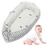 Baby Stubenwagen für Liege, Bett,Baby Neugeborene Infant Kleinkind tragbar CO-Sleeping Wiege & Wiegen Liege Kissen super weich Atmungsaktiv Sleep Nest, Cocoon Snuggle Bett für 0–2 Jahre weiß