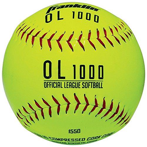Franklin Official League Softball - gelb OL-1000