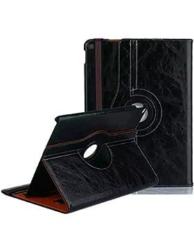 iPad air 2 Case, elecfan® Ultra Slim 360 Degree Rotating Business Stil iPad Air 2 Hülle Case Cover Schutzhülle...