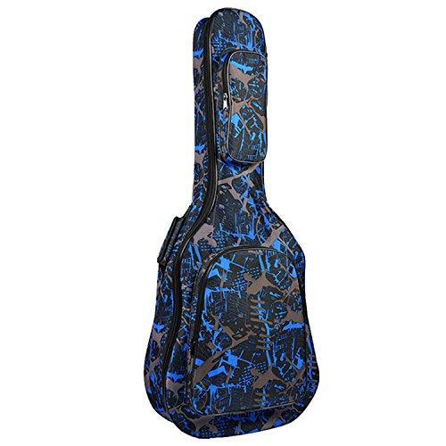 Gosear Mode Verdickt Oxford Tuch Gitarre Durchführung Tasche Fall Mit Reißverschluss Pocket Für 40 29 Inch Akustische Classic Folk Gitarre B