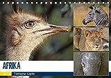 AFRIKA - Tierische Köpfe (Tischkalender 2019 DIN A5 quer): Porträts in freier Wildbahn (Monatskalender, 14 Seiten ) (CALVENDO Tiere)