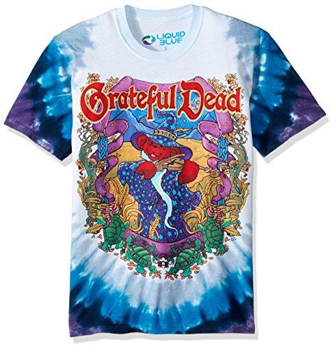 Liquid Blue Herren 's Grateful Dead-Terrapin Moon T-Shirt Gr. X-Large, Batik