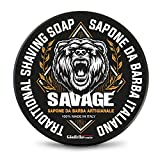 The Goodfellas' Smile Sapone da Barba Artigianale Savage - 100 ml