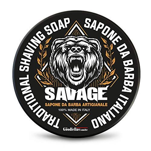 The Goodfellas' Smile Sapone da Barba Artigianale Savage - 100 ml