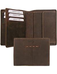 Sattler + Co. Geldbörse, 177320 001, Damen und Herren Geldbörse, Leder, braun