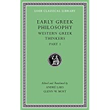 Early Greek Philosophy, Volume Iv: Sophists (Loeb Classical Library, Band 527)