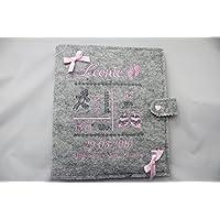 Personalisiertes Babytagebuch, Babyalbum DIN A5, Mädchen oder Buben