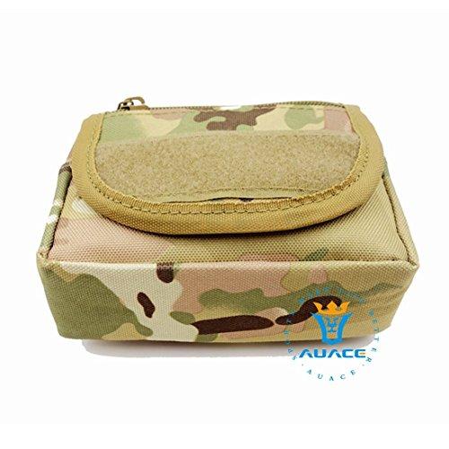 Multifunzione sopravvivenza Gear tattico Sacca Molle Pouch Velcro strumento di portatile da campeggio, Borsa, Borse da viaggio Borse Borse vita borsa custodia, MC CP