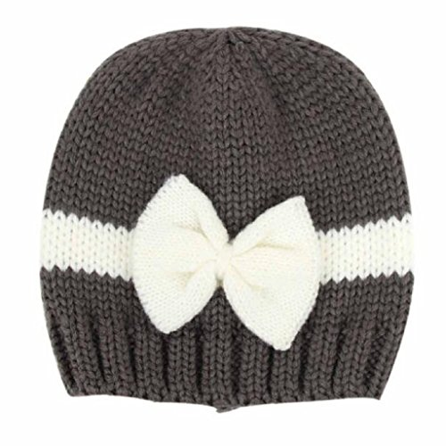 KanLin Newborn Baby Infant Toddler Knitting Wool Crochet Hat (Dark (Dark Kostüme Age)