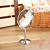 Frcolor Maquillage miroir Double Face Miroir de table grossissant