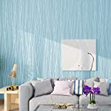 Papel tapiz de color puro, autoadhesivo, papel tapiz de jardín, pegatinas de pared, pegatinas decorativas, azul