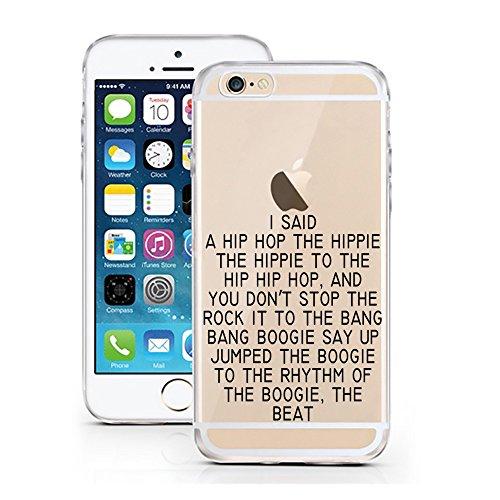 iPhone 7 Hülle von licaso® für das Apple iPhone 7 aus TPU Silikon More Issues than Vogue Fashion Style Muster ultra-dünn schützt Dein iPhone 7 & ist stylisch Case Design Schutzhülle Bumper Geschenk (i I said a Hip Hop the Hippie