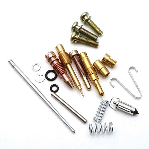 Stoneder Ensemble complet Carburateur Rebuild kit de r/éparation pour Vm22/26/mm Mikuni Carb Pit Dirt bike