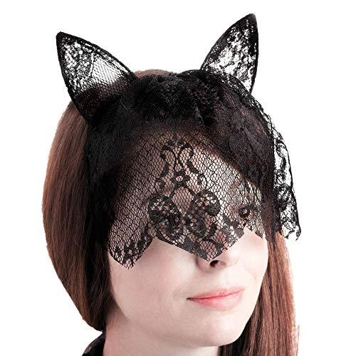 enohren und Maske Alice Haarband Stirnband Fancy Dress Halloween ()