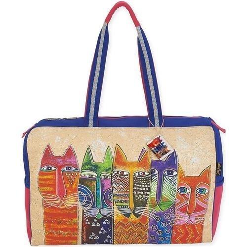 laurel-burch-cuello-largo-laurel-burch-bolso-bolsos-acrilico-multicolor