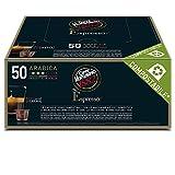 Caffè Vergnano 1882 Èspresso Capsule Caffè Compatibili Nespresso, Arabica - Pack da 50 capsule