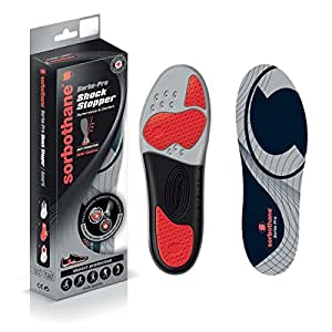 Sorbothane Sorbo Pro Total Control Insoles - 5-6.5