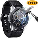 KIMILAR Compatible Samsung Galaxy Watch 46mm / Gear S3 Protection Écran, [3 Pack] 9H...