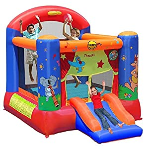 Happy Hop- Theater Slide and Hoop Bouncer, (9304T)