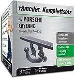 Rameder Komplettsatz, Anhängerkupplung abnehmbar + 13pol Elektrik für Porsche Cayenne (112828-04899-4)